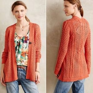Anthropologie Talmage Ca9in Orange